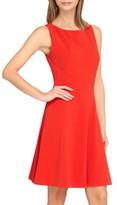 Tahari Petite Women's Sleeveless A-Line Dress