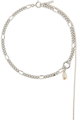 Justine Clenquet Silver Vicky Necklace