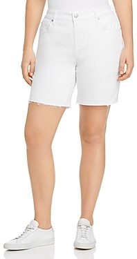 Seven7 Weekend Bermuda Shorts in Blanc De Blanc