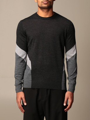 Emporio Armani Sweater With Two-tone Details