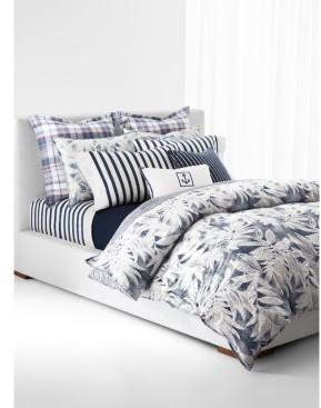 Lauren Ralph Lauren Evan Botanical Palm King Duvet Set Bedding