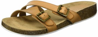 Rock & Candy womens Footbed Sandal