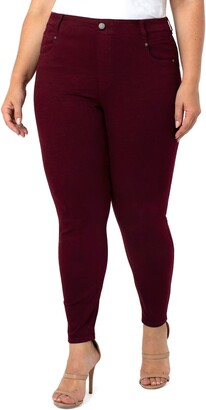 Liverpool Los Angeles Gia Glider Pull-On Ankle Skinny Jeans