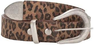 Leather Rock Kaitlyn Belt (Leopard) Women's Belts