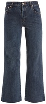A.P.C. Sailor wide-leg cropped jeans