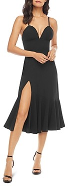 Dress the Population Marilyn Plunging Sweetheart Dress
