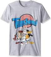 Looney Tunes Men's Tune Squad T-shirt, heather grey