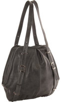 Women's Piel Leather Convertible Buckle Backpack/Shoulder Bag 3053