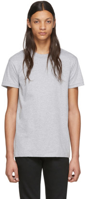 Naked & Famous Denim Denim Grey Circular Knit T-Shirt