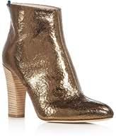 Sarah Jessica Parker Minnie Metallic High Heel Booties