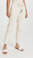 Thumbnail for your product : Bassike Double Jersey Contrast Tapered Pants