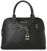 Kenneth Cole Reaction Black Linked Up Dome Satchel
