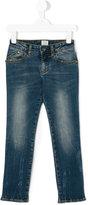 Armani Junior straight leg jeans - kids - Cotton/Spandex/Elastane - 4 yrs