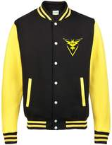 Bullshirt's Men's Team Instinct Varsity Jacket (XL, Black / Yellow)