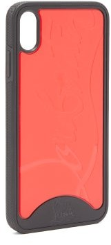 Christian Louboutin Loubiphone Sneakers Iphone X & Xs Phone Case - Black Red