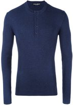 Dolce & Gabbana buttoned jumper