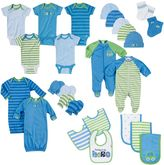 Gerber Newborn Baby Boy Onesie, Layette & Accessory 26-pc. Set