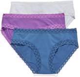 Natori 3 Pack Bliss Girl Briefs