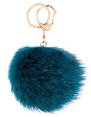 The September Fur Pom Pom Keychain