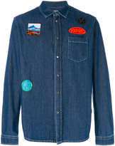 Kenzo denim shirt with patches