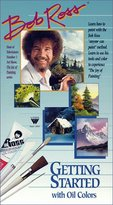 "Weber Bob Ross DVD Lesson-""Getting Started"" in Oil Color, 1 Hour"
