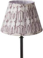 OKA 25cm Pleated Daun Cotton Lampshade