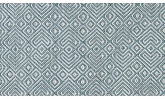 Camilla And Marc Weaver Green - Teal Provence Rug 110 X 60 Cm - 110cm x 60cm