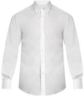 Brunello Cucinelli Single-cuff cotton-poplin shirt
