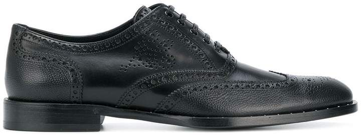 Dolce & Gabbana micro-stud detail Oxford shoes