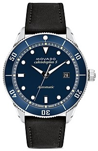 Movado Heritage Calendoplan Watch, 43mm