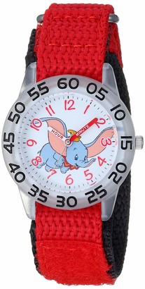 Disney Girls Dumbo Analog-Quartz Watch with Nylon Strap