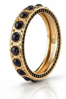 House Of Harlow Blue Cabochon Stone Bangle