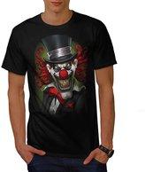 Clown Hat Scary Horror Men XXXL T-shirt | Wellcoda