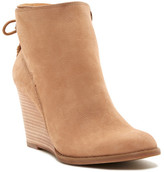 Lucky Brand Yamina Wedge Zip Bootie