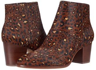 Madewell Becca Bootie (Rich Brown Multi Haircalf) Women's Shoes
