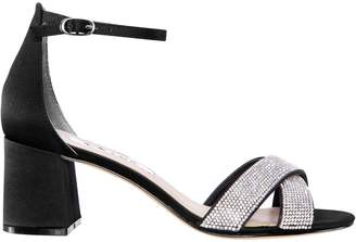 Nina Nolita Satin Heeled Sandals