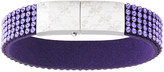 Swarovski Simone Rossmann Vilja USB Bracelet, Purple