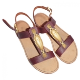 Valentino Leather Sandals