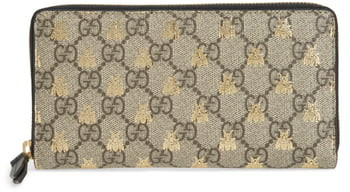 a86fbc09cf47 Gucci Bee Wallet - ShopStyle