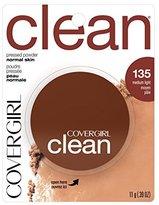 Cover Girl Clean Pressed Powder Foundation Medium Light .39 fl. oz. by