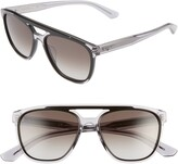 Salvatore Ferragamo 55mm Navigator Sunglasses