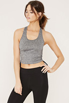 Forever 21 Active Marled Racerback Tank