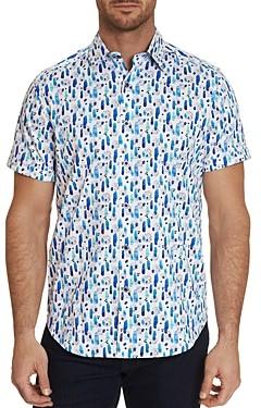 Robert Graham Palmetto Printed Short Sleeve Shirt