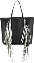 Sara Battaglia Everyday Fringed shopper tote - women - Calf Leather/Polyester - One Size