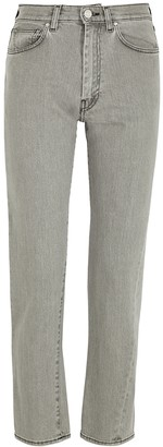 Totême Original Grey Straight-leg Jeans