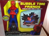 Marval Spider-Man Spiderman Bubble Time Friends Bubbling Body Wash & Bath Mitt