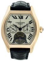 Cartier Tortue 18K Rose Gold 43mm Mens Watch