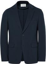 TOMORROWLAND Blue Summer Milano Slim-Fit Cotton-Blend Blazer
