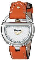 Salvatore Ferragamo Women's FG5040014 BUCKLE Analog Display Quartz Orange Watch