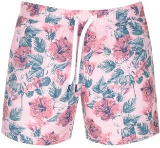 Jack Wills Blakeshall Floral Swim Shorts Pink
